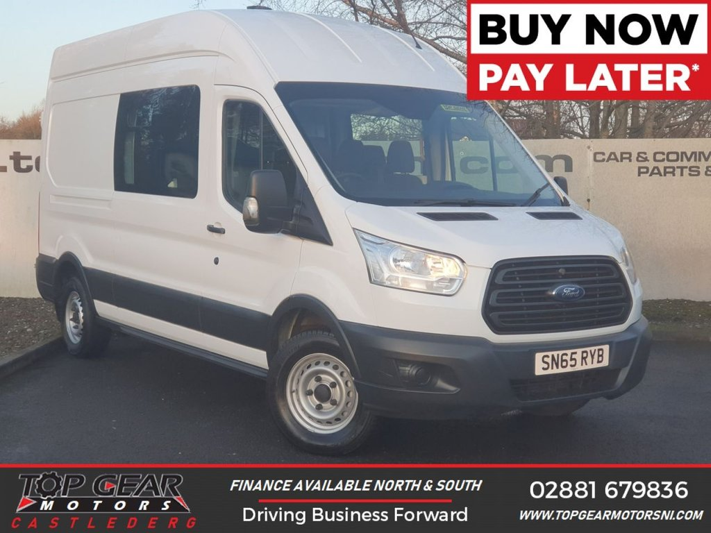 USED 2015 65 FORD TRANSIT 350 RWD 2.2 125 BHP L3 H3 H/R MESS UNIT 7 SEATER **OVER 100 VEHICLES IN STOCK**