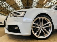 USED 2015 65 AUDI A5 2.0 TDI Black Edition Plus Multitronic 2dr HIGHEST SPEC AROUND STUNNER!