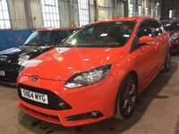 USED 2014 64 FORD FOCUS 2.0 T ST-2 5dr ULTRA LOW MILEAGE+GREAT VALUE!