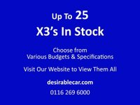 USED 2016 16 BMW X3 2.0 20d SE xDrive 5dr ***** £2,375 of EXTRAS *****