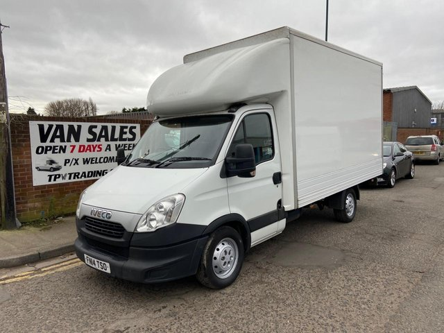 2014 14 IVECO DAILY 3.0 35S17 170 BHP**FULL SERVICE HISTORY**