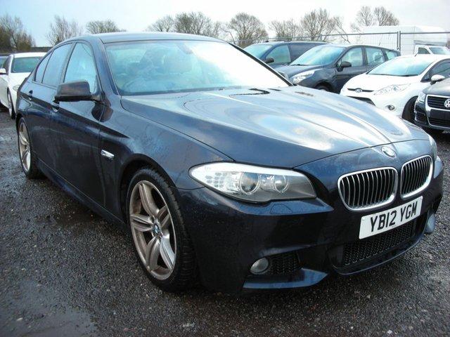2012 12 BMW 5 SERIES 2.0 520D M SPORT 4d 181 BHP