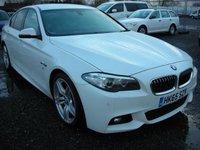 2015 BMW 5 SERIES 2.0 520D M SPORT 4d 188 BHP £11000.00