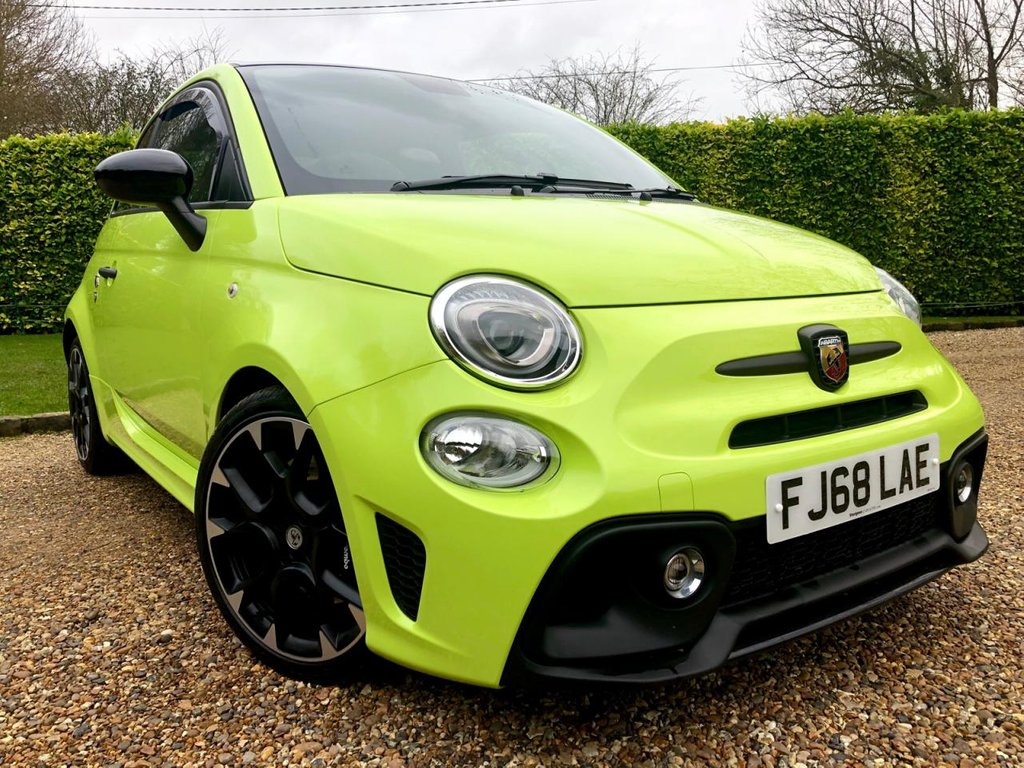USED 2018 68 ABARTH 595 1.4 595 COMPETIZIONE 3d 177 BHP NEARLY £3000 OF FACTORY EXTRAS