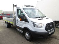 USED 2016 66 FORD TRANSIT 2.2 T350 (125 BHP) LWB ALLOY DROPSIDE WITH TAIL LIFT