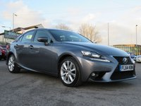 USED 2014 64 LEXUS IS 2.5 300H EXECUTIVE EDITION 4d 179 BHP