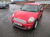 2010 MINI HATCH ONE 1.6 ONE 3d 98 BHP £3695.00