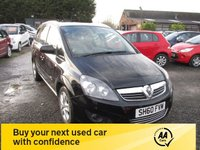 USED 2010 60 VAUXHALL ZAFIRA 1.9 ENERGY CDTI 5d 118 BHP 7 SEVEN SEATER AUTOMATIC DIESEL