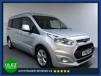 USED 2016 66 FORD GRAND TOURNEO CONNECT 1.5 TITANIUM TDCI 5d AUTO 118 BHP FULL FORD HISTORY -1 OWNER - SAT NAV - 7 SEATS - PAN ROOF - PARKING SENSORS - CAMERA - AIR CON - BLUETOOTH - DAB
