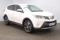 USED 2014 64 TOYOTA RAV4 2.0 D-4D ICON 5DR 124 BHP FULL TOYOTA SERVICE HISTORY + REVERSE CAMERA + BLUETOOTH + CRUISE CONTROL + CLIMATE CONTROL + MULTI FUNCTION WHEEL + XENON HEADLIGHTS + PRIVACY GLASS + DAB RADIO + ELECTRIC WINDOWS + ELECTRIC MIRRORS + 18 INCH ALLOY WHEELS