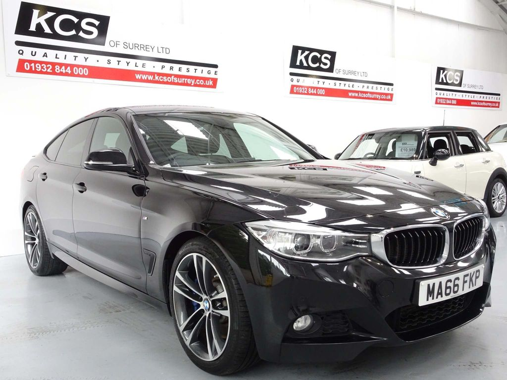 USED 2016 66 BMW 3 SERIES 3.0 330d M Sport GT Sport Auto (s/s) 5dr PRO NAV / M-SPORT PLUS PACK
