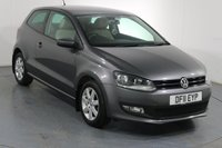 USED 2011 11 VOLKSWAGEN POLO 1.4 MATCH DSG AUTOMATIC 3d 83 BHP 7 Stamp SERVICE HISTORY
