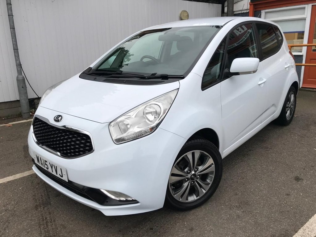 USED 2015 15 KIA VENGA 1.6 3 5d 123 BHP HALF LEATHER, SAT NAV + MORE