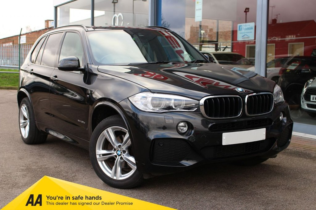 "USED 2014 64 BMW X5 3.0 XDRIVE30D M SPORT 5d 255 BHP - EURO 6, NAV, HTD/LEATHER, CRUISE, DAB & 19"" ALLOYS"