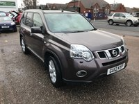 USED 2012 12 NISSAN X-TRAIL 2.0 TEKNA DCI  5d 148 BHP AUTOMATIC-NAV-BLUETOOTH-DIESEL-LEATHER-SERVICE HISTORY(6 STAMPS)-1 FORMER KEEPER