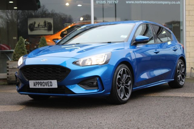 USED 2018 68 FORD FOCUS 1.0 ST-LINE X 5d 125 BHP