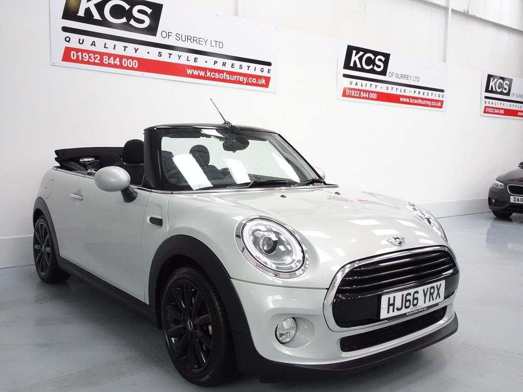 USED 2016 66 MINI CONVERTIBLE 1.5 Cooper D (s/s) 2dr CHILI PACK/HTD SEATS/BLUETOOTH