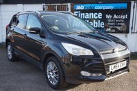 USED 2014 64 FORD KUGA 2.0 TITANIUM TDCI 5d 160 BHP 5 Stamps, DAB, B/tooth, Privacy Glass, Half Lther Seats