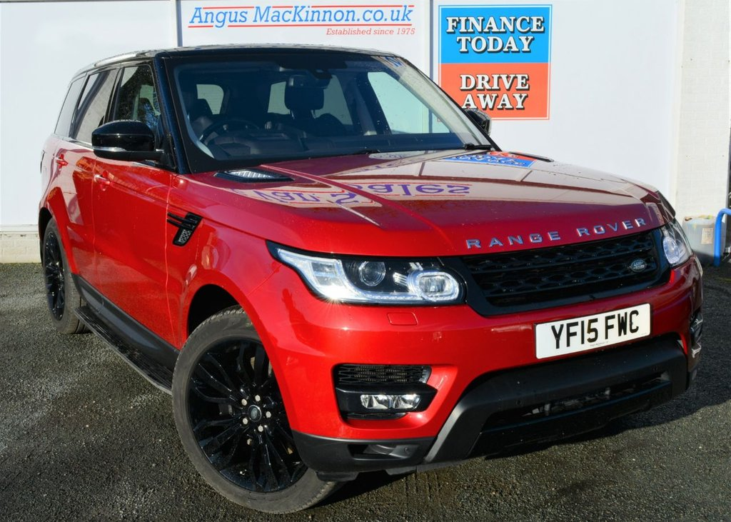 USED 2015 15 LAND ROVER RANGE ROVER SPORT 3.0 SDV6 HSE DYNAMIC 5d 288 BHP ***ONE OWNER FROM NEW***