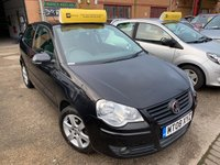 USED 2008 08 VOLKSWAGEN POLO 1.2 MATCH 3d 59 BHP