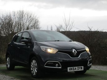 2014 RENAULT CAPTUR 1.5 EXPRESSION PLUS ENERGY DCI S/S 5d 90 BHP £5990.00