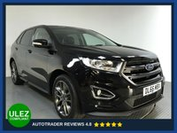 USED 2016 66 FORD EDGE 2.0 SPORT TDCI 5d AUTO 207 BHP FULL FORD HISTORY - 1 OWNER - SAT NAV - PAN ROOF - CAMERA - PARKING SENSORS - AIR CON - BLUETOOTH - HALF LEATHER