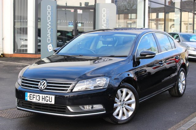 USED 2013 13 VOLKSWAGEN PASSAT 2.0 TDI BlueMotion Tech Highline AUTO DSG (s/s) 4dr