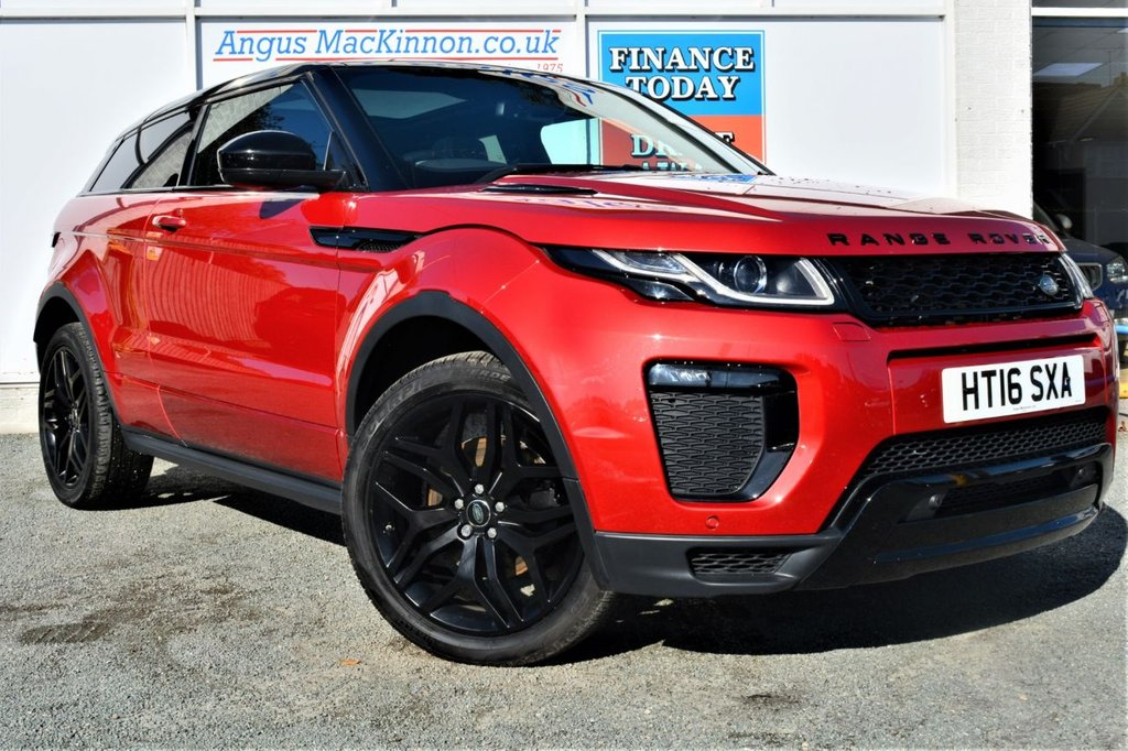 USED 2016 16 LAND ROVER RANGE ROVER EVOQUE 2.0 TD4 HSE DYNAMIC 3d 177 BHP **FULL LAND ROVER SERVICE HISTORY**