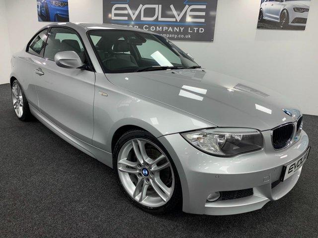 2012 61 BMW 1 SERIES 2.0 118D M SPORT 2d 141 BHP