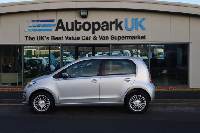 USED 2015 15 VOLKSWAGEN UP 1.0 HIGH UP 5d 74 BHP LOW DEPOSIT OR NO DEPOSIT FINANCE AVAILABLE