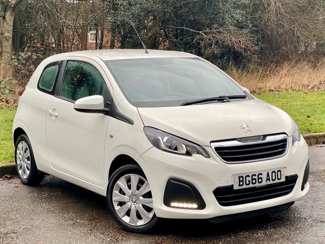 USED 2016 66 PEUGEOT 108 1.0 ACTIVE 3d 68 BHP * 1 OWNER FROM NEW * 128 POINT AA INSPECTED *