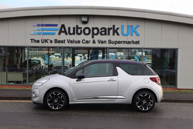 USED 2014 14 CITROEN DS3 1.6 E-HDI DSTYLE PLUS 3d 90 BHP LOW DEPOSIT OR NO DEPOSIT FINANCE AVAILABLE