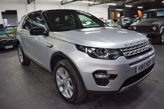 USED 2015 15 LAND ROVER DISCOVERY SPORT 2.2 SD4 HSE 5d 190 BHP 4X4 7 SEATS STUNNING CONDITION - TOP HSE SPEC - ONE OWNER - 7 SEATS - LEATHER - NAV - GLASS ROOF - R/CAMERA - PRIVACY GLASS