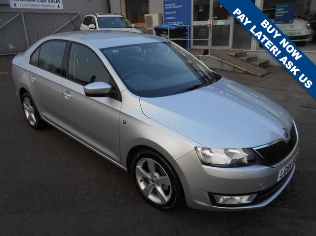 USED 2014 64 SKODA RAPID 1.2 SE CONNECT TSI 5d 85 BHP £30 ROAD TAX - 2 REGISTERED KEEPERS FROM NEW