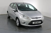 USED 2011 11 FORD FIESTA 1.4 ZETEC 16V 5d 96 BHP 3 OWNERS with 5 Stamp SERVICE HISTORY