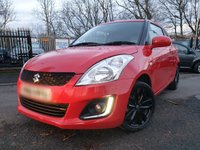 USED 2017 66 SUZUKI SWIFT 1.2 SZ-L 3d 94 BHP 2KEYS+ALLOYS+AIRCON+30ROADTAX+ELEC+LOWMILE+MEDIA+AUX+CLEANCAR+