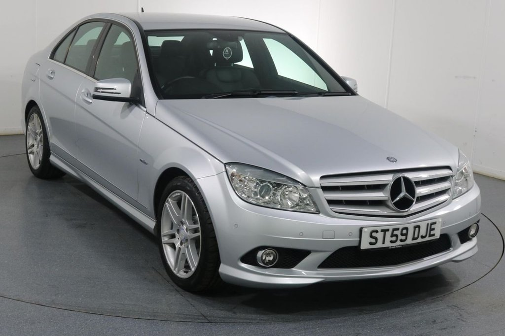 USED 2009 59 MERCEDES-BENZ C CLASS 1.6 C180 KOMPRESSOR BLUEEFFICIENCY SE 4d 156 BHP 2 OWNERS with 10 Stamp SERVICE HISTORY