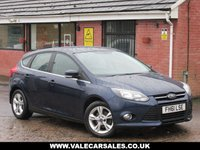 USED 2012 61 FORD FOCUS 1.6 TDCI ZETEC (BLUETOOTH+9 SERVICE STAMPS) 5dr FULL SERVICE HISTORY - £20 ROAD TAX - BLUETOOTH