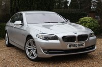 USED 2010 60 BMW 5 SERIES 2.0 520D SE 4d 181 BHP ** 7 STAMPED SERVICES AND TWO OWNERS **