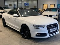 "USED 2013 13 AUDI A5 2.0 TDI S LINE 2d 175 BHP SAT NAV+B&O+20""ALLOYS+6.0%APR"