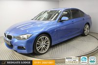 USED 2013 63 BMW 3 SERIES 2.0 318D M SPORT 4d 141 BHP
