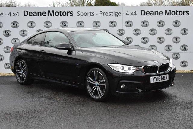 2016 16 BMW 4 SERIES 2.0 420D XDRIVE M SPORT 2d 188 BHP M SPORT PLUS PACKAGE