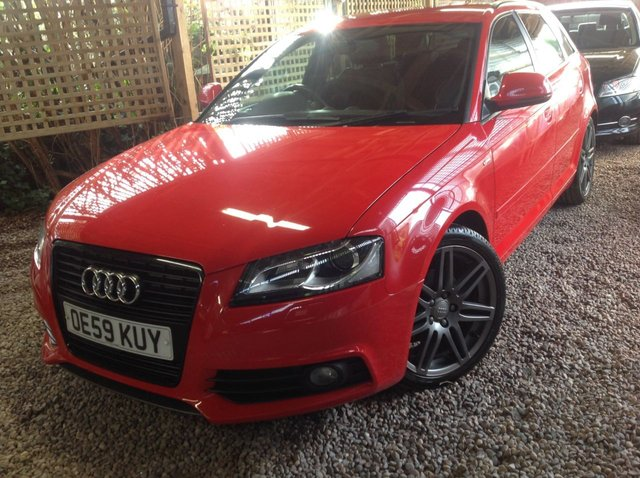 2010 59 AUDI A3 2.0 SPORTBACK TDI S LINE SPECIAL EDITION 5d 138 BHP