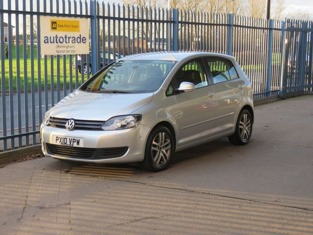 USED 2010 10 VOLKSWAGEN GOLF PLUS 1.4 SE TSI DSG 5d 121 BHP Automatic,parking sensors and service history
