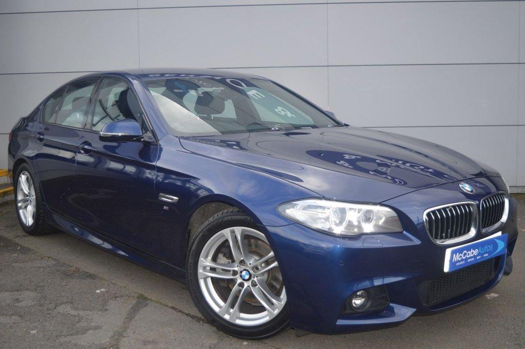 USED 2016 BMW 5 SERIES 520 D M SPORT AUTO 190 BHP late NOV 16