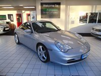 USED 2003 52 PORSCHE 911 3.6 CARRERA 2 2d 316 BHP WE ARE DELIGHTED TO OFFER YET ANOTHER HAND PICKED TRULY IMMACULATE PORSCHE 911 (996) CARRERA 2 3.6 MANUAL. FINISHED IN ARCTIC SILVER WITH BLACK LEATHER, THIS THOROUGHLY GENUINE 91 HAS BEEN IN THE POSESSION OF THE LAST OWNER SINCE 2005. CLEARLY LOVED AND CHERISHED, THE CAR HAS COVERED A MINIMAL ANNUAL MILEAGE, AND HAS A FULLY STANPED SERVICE HISTORY BOOK, MOSTLY PORSCHE DEALERS OR PORSCHE SPECIALIST.