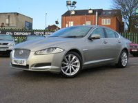 2011 JAGUAR XF 2.2 D LUXURY 4d 190 BHP £6970.00