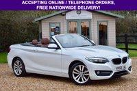 2016 BMW 2 SERIES 1.5 218I SPORT 2d 134 BHP £13495.00