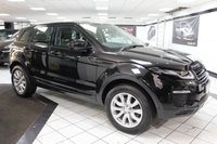 USED 2016 16 LAND ROVER RANGE ROVER EVOQUE 2.0 TD4 SE TECH AUTO 180 BHP 1 OWNER VAT QUALIFYING SAT NAV