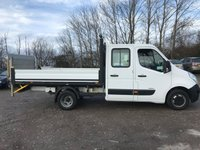 USED 2012 62 RENAULT MASTER MLL35 150PS D/CAB DROPSIDE PICKUP WITH TAILIFT**GREAT VALUE**
